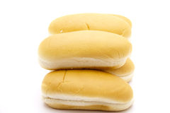 Hot dog rolls Stock Photography