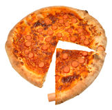 Hot Dog Sausage Pizza Royalty Free Stock Images