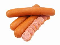 Hot Dog Sausages Royalty Free Stock Images