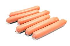 Hot dog sausages Stock Photos