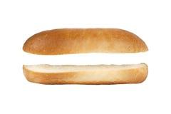 Hot dog senza riempire Fotografie Stock