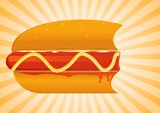 Hot Dog Set 2 Stock Photo