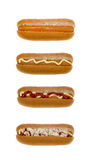 Hot dog set Stock Image