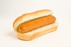 Hot dog squisito degli alimenti a rapida preparazione Fotografie Stock Libere da Diritti