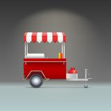 Hot dog store Royalty Free Stock Images