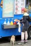 Hot Dog Truck Royalty Free Stock Photography