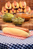 Hot dogs Stock Photos