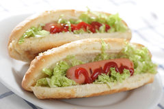 Hot dogs Stock Photo