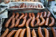 Hot-dogs Photos libres de droits