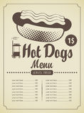 Hot-dogs illustration de vecteur