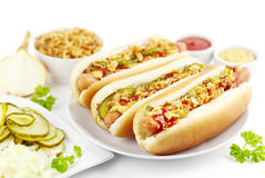 Free Hot Dogs Royalty Free Stock Photography - 29651847