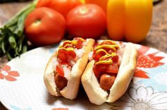 Hot-dogs Images stock