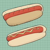 Hot-dogs Photo libre de droits