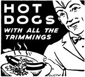 Hot dogs 3 Photos libres de droits
