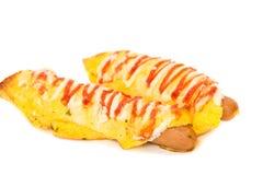 Hot dogs Photographie stock libre de droits