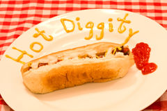 Hot-dogs Image libre de droits