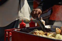Hot dogs de rue Image libre de droits