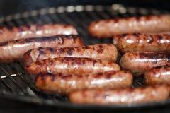 Hot-dogs grillés Photo libre de droits