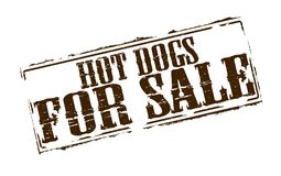 Hot dogs for sale. Rubber stamps with text hot dogs for sale inside,  illustration Stock Photos