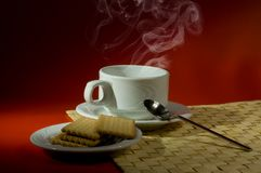 Hot drink Royalty Free Stock Image