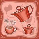 Hot drink 2 Royalty Free Stock Image