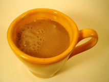 Hot Drink. Cup of hot chocolate Stock Photos
