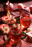 Hot drink for Christmas Royalty Free Stock Photo