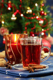 Hot drink for Christmas Stock Photos