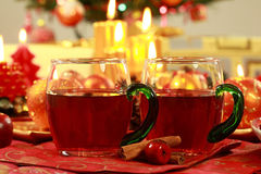 Hot drink for Christmas Royalty Free Stock Image