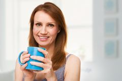 Hot drink at home Royalty Free Stock Images