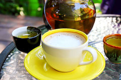 Hot drink and tea Royalty Free Stock Photo