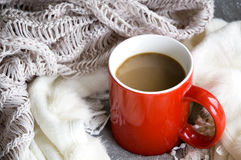 Hot drink for winter Stock Image