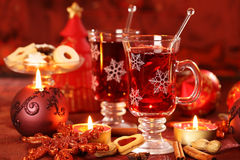 Hot drink for winter and Christmas Royalty Free Stock Photography