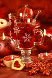 Hot drink for winter and Christmas Stock Images