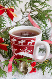 Hot drink for winter and Christmas Royalty Free Stock Image