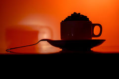 Hot Drinks/ Coffee Stock Image