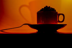 Hot Drinks/ Coffee Royalty Free Stock Image