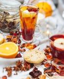 Hot drinks Stock Image