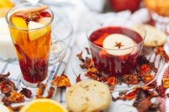 Hot drinks Stock Photo