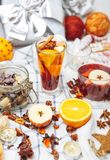 Hot drinks Stock Photography