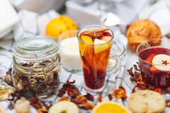 Hot drinks Royalty Free Stock Images