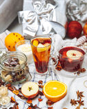 Hot drinks Stock Image