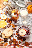 Hot drinks Royalty Free Stock Photos