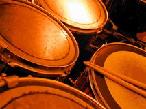 Hot Drums Stock Images