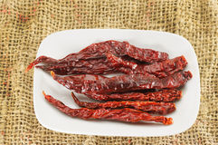 Hot dry Chili Stock Images