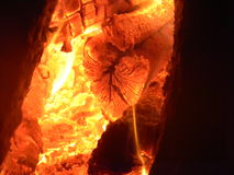 Hot Embers Stock Photos