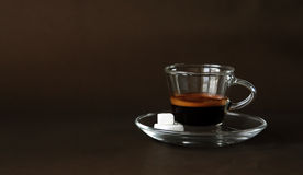 Hot espresso Royalty Free Stock Photography
