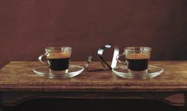 Hot espresso Stock Image