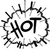 Hot Exploding Header Royalty Free Stock Photography