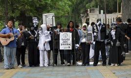 HOT FÖR INDONESIEN ANTI-KORRUPTIONKRIG Royaltyfri Bild